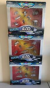 Star Wars Micro Machines Collectors Edition LOT RETURN OF JEDI EMPEROR STRIKES++