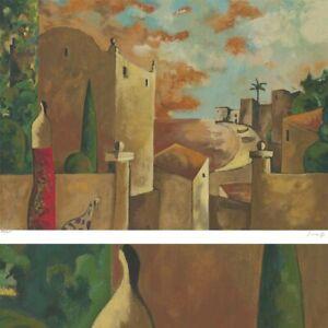 "Image 40""x28"" PASEO POR LA TARDE by DIDIER LOURENCO NUMBERED #129/275 SIGNATURE"
