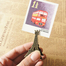 Newest Paris Eiffel Tower message holder business card holder clip desk organize
