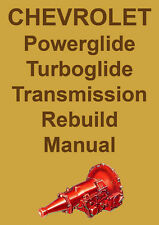 CHEVROLET POWERGLIDE & TURBOGLIDE AUTOMATIC TRANSMISSION MANUAL