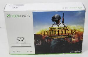 Microsoft Xbox One S PUBG Empty Retail Box Player Unknown's Battlegrounds Sleeve