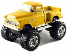 Kinsmart Off Road Big Foot Monster 1955 Chevy Stepside PickUp Truck 1:32 Yellow!