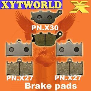 FRONT REAR Brake Pads for Suzuki GSX 650 F 2008-2013