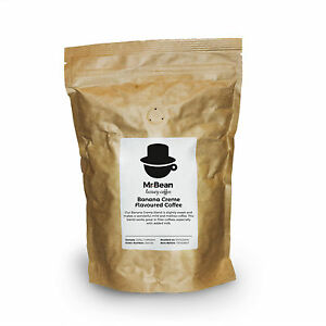 Banana Creme Flavoured Coffee - Mild coffee with a mellow sweetness - 227g-908g
