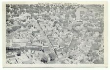 Laconia NH Aerial View Downtown Postcard ~ New Hampshire