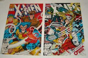 X - MEN # 4 & 5 MARVEL COMICS 1991 OMEGA RED 1st APPEARANCE ORIGIN WOLVERINE