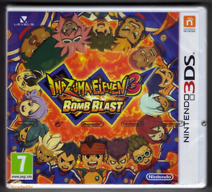 Nintendo 3DS Inazuma Eleven 3 Bomb Blast, Brand New Nintendo Factory Sealed Mint