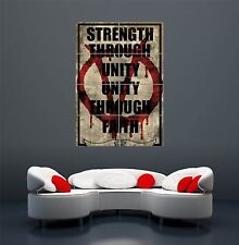 V FOR VENDETTA 2 GIANT WALL ART PRINT POSTER PICTURE WA168