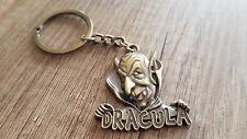 Dracula 3D Metal Keychain Souvenir Romania