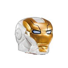 LEGO - Minifig, Headgear White Space Helmet w/ Gold Face Shield (Space Iron Man)