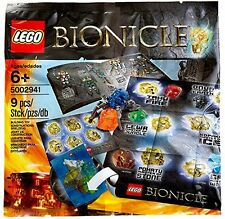 LEGO Bionicle Hero Pack 9 Pieces - NEW 5002941