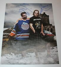 JASON MEWES KEVIN SMITH SIGNED 11X14 PHOTO AUTOGRAPH JAY AND SILENT BOB GET OLD