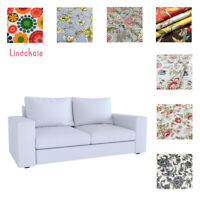 Custom Made Cover Fits IKEA Kivik 2 seat sofa, Patterned fabrics