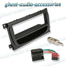 Ford Focus schwarz CD Radio Platte Stereo Armaturenbrett Adapter MONTAGESATZ
