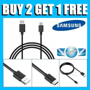 For Samsung Galaxy S8 S9 S10 S20+ Type C USB-C Sync Charger Charging Power Cable