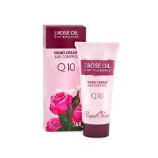 Regina Roses Âge Contrôle Main Crème Q10 par Biofresh 50ml Doux Mains Effet
