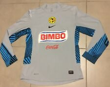 Men's Club America Aguilas Sz M Goalkeeper Player Issued Soccer Nike Jersey