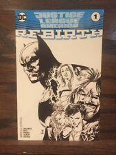 Justice League of America Rebirth #1 C2E2 Sketch Variant Huge Auction Now!