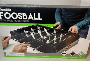 Franklin Sports 20-Inch Mini Foosball Game - With Steel Player Rods - Brand NEW