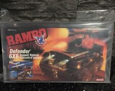 Rambo 6x6 Jeep Defender Coleco 1985 Graded UKG75 Extremely Rare SEALED