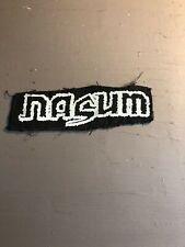 [9033 - PA1] Patch tissus pour t-shirt - coton - Punk- Nasum