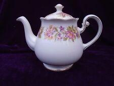 VINTAGE COLCLOUGH WAYSIDE BONE CHINA TEA POT 1.75 PINTS