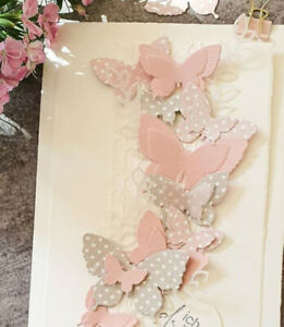 Butterfly decoration metal Cutting Dies Stencils Scrapbooking Cards Embossing