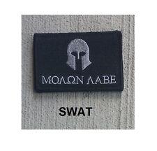 Morale Patch Special Ops Gear - MOLON LABE - HELMET - SWAT Urban - Hook & Loop