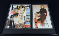 Gretchen Mol Signed Framed 16x20 Interview Magazine Cover & Photo Display JSA