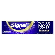 SIGNAL Dentifrice White Now GOLD 3X Plus Blanc 75ml * 8717163738559