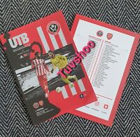 Sheffield United v Arsenal FA CUP QUARTER FINAL Programme 28/6/20! SOLD OUT!
