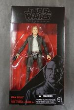 "Han Solo STAR WARS The Black Series 6"" Figure AUTHENTIC #18 18"