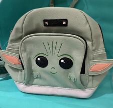 Baby Yoda Mini  Backpack/Purse Disney Star Wars The Child Back Pack! Brand New!