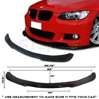 Fit for 05-10 BMW E90/E92 Poly-Urethane Under Front Bumper Lip Spoiler Splitter
