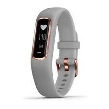 Garmin Vivosmart 4 rastreador de actividad & Fitness-gris con el hardware de oro rosa (S/