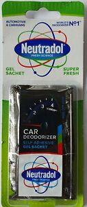 NEUTRADOL - CAR GEL AIR FRESHENER - SUPER FRESH - FREE UK POSTAGE