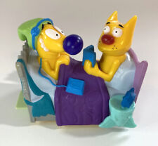 Burger King Kids Meal Nickelodeon 1999 Catdog Wacky Waker Upper Bed Toy