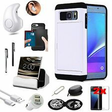 Pocket  Case Cover Bluetooth Earphone Accessory For Samsung Galaxy S7