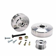 1997-2004 FORD 4.6L/5.4L F-SERIES/EXPED 3 PC UNDER DRIVE PULLEYS (ALUMINUM)