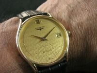 Vintage LONGINES Automatic Date Swiss Made Men's Nice and Rare Collection