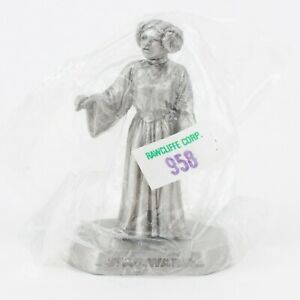 Princess Leia, New in Sleeve | Vintage 1990s Star Wars Figure by Rawcliffe Pewt