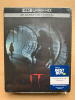 Stephen King's It 4K UHD Blu-Ray Steelbook Migliore Buy Esclusivo Film Horror