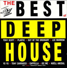 """""""The Best Of Deep House Compilation"""" CD 1990 Discomagic"""