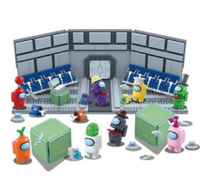 8pc/Set Among Us Mini Figure Fit Blocks Boys Girls Birthday Gift Child Kids Toy