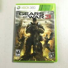 Gears of War 3 (Microsoft Xbox 360, 2011) Good condition