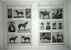 1900 EPSOM DERBY The Blue Ribbon Of The Racecourse Some Heroes,Trainers & Riders