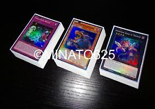 Yugioh Complete Ghostrick Deck + Ultra Pro Sleeves! Tournament Ready! Holos Rare