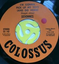 60 ' s Northern Soul -  Devonnes  -  I'm Gonna Pick Up My Toys -   COLOSSUS