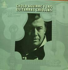 CHOLO AGUIRRE Y LAS GUITARRAS CRIOLLAS-MISMO TITULO 1976 LP VINILO SPAIN