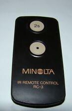 Minolta RC-3 IR Remote Control for Konica -Minolta Cameras